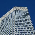 Moderne Gebäude sind ohne Zier....